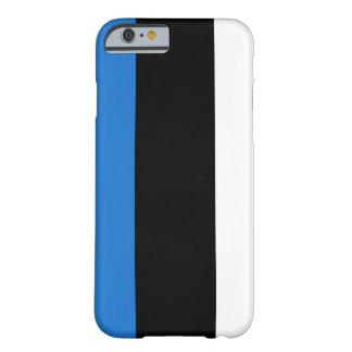 Bandera de Estonia Funda Para iPhone 6 Barely There