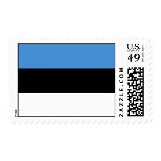 Bandera de Estonia Franqueo