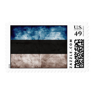 Bandera de Estonia; Serie del Grunge Franqueo