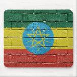 Bandera de Etiopía Alfombrilla De Ratón