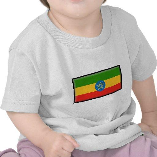 Bandera de Etiopía Camisetas