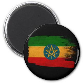 Bandera de Etiopía Imán Redondo 5 Cm