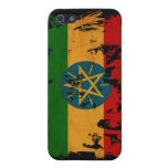 Bandera de Etiopía iPhone 5 Cárcasa