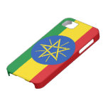Bandera de Etiopía iPhone 5 Funda