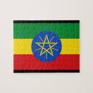 Bandera de Etiopía Puzzle