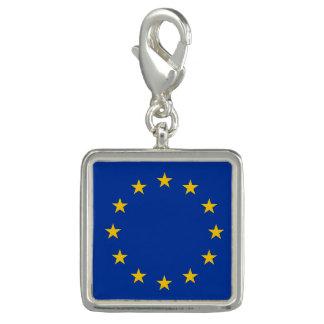 Bandera de Europa, bandera europea Dije Con Foto
