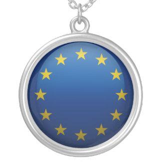 Bandera de Europa Colgante Redondo