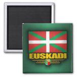 Bandera de Euskadi Imán Cuadrado