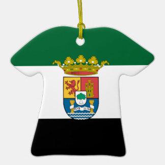 Bandera de Extremadura (España) Adorno Para Reyes