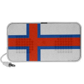 Bandera de Faroe Island Dinamarca
