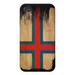 Bandera de Faroe Island iPhone 4 Protector
