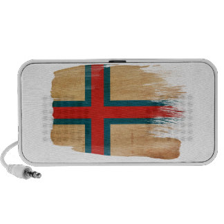 Bandera de Faroe Island Sistema Altavoz