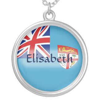 Bandera de Fiji + Collar conocido