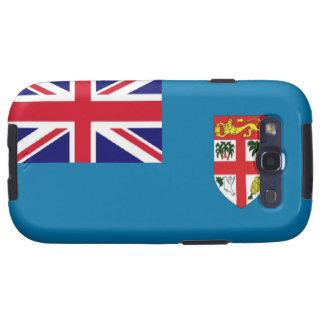 Bandera de Fiji Galaxy S3 Funda