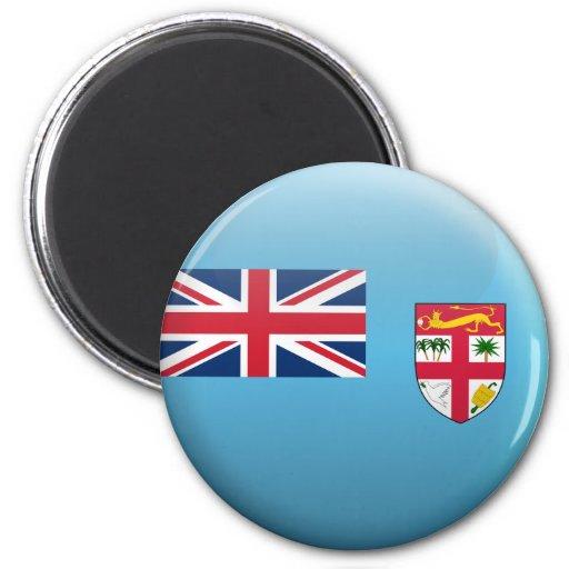 Bandera de Fiji Imán De Frigorífico