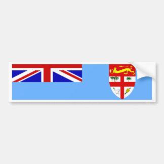 Bandera de Fiji Pegatina Para Auto