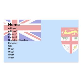Bandera de Fiji Tarjetas De Visita