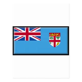 Bandera de Fiji Tarjetas Postales