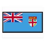 Bandera de Fiji Tarjeta Postal