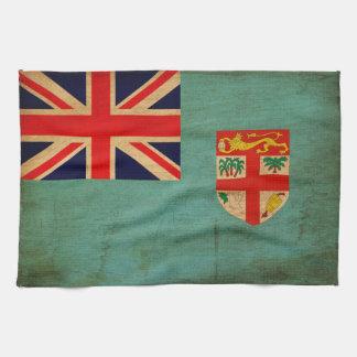 Bandera de Fiji Toallas De Cocina