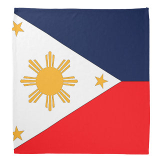 Bandera de Filipinas Bandana