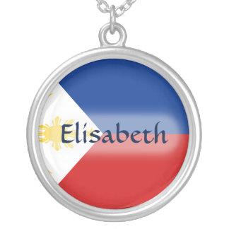 Bandera de Filipinas + Collar conocido