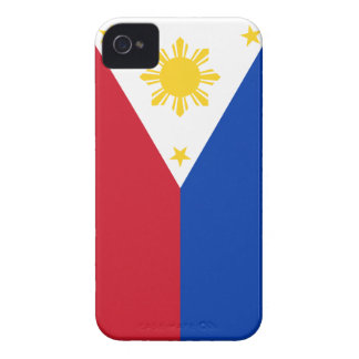 Bandera de Filipinas Case-Mate iPhone 4 Protectores