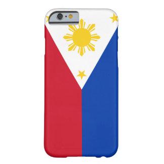 Bandera de Filipinas Funda Para iPhone 6 Barely There