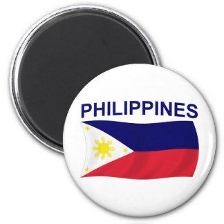 Bandera de Filipinas Imanes Para Frigoríficos
