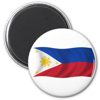 Bandera de Filipinas Imán Para Frigorífico