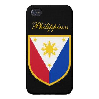 Bandera de Filipinas iPhone 4 Funda