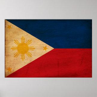 Bandera de Filipinas Poster