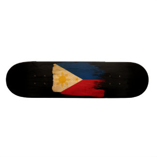 "Bandera de Filipinas Patineta 7 3/4"""
