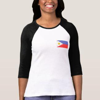Bandera de Filipinas Remeras