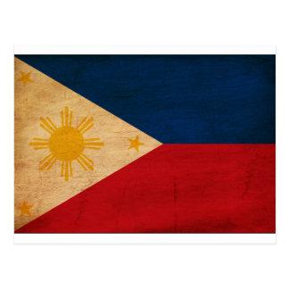 Bandera de Filipinas Postal