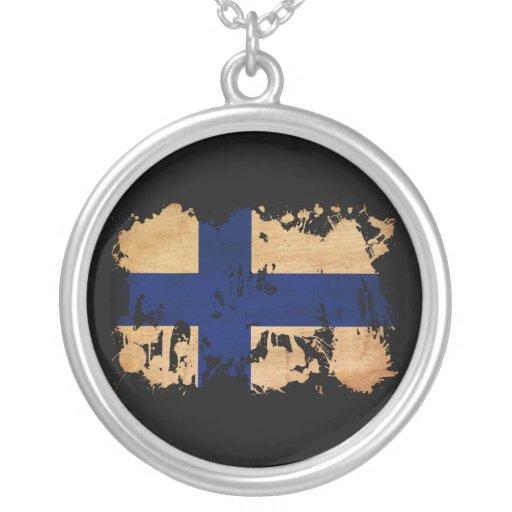 Bandera de Finlandia Collar