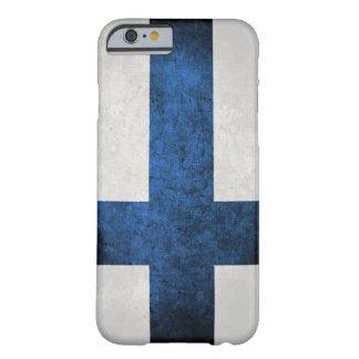 Bandera de Finlandia Funda Para iPhone 6 Barely There
