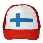 Bandera de Finlandia Gorra
