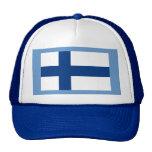 Bandera de Finlandia Gorro De Camionero