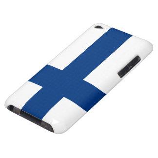Bandera de Finlandia iPod Touch Case-Mate Carcasas