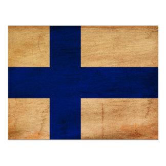 Bandera de Finlandia Postal