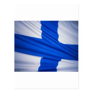 Bandera de Finlandia Postales