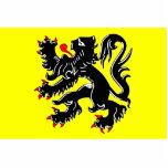 Bandera de Flandes, Bélgica Escultura Fotográfica