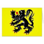 Bandera de Flandes, Bélgica Felicitaciones