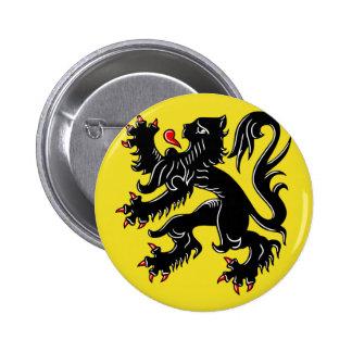 Bandera de Flandes (Bélgica) Pins