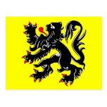 Bandera de Flandes, Bélgica Postal