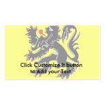 Bandera de Flandes, Bélgica Tarjetas Personales