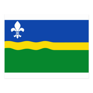 Bandera de Flevolanda Postal