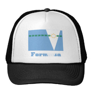 Bandera de Formosa con nombre Gorros Bordados