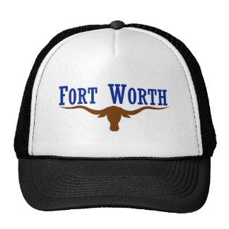 Bandera de Fort Worth Tejas Gorro De Camionero